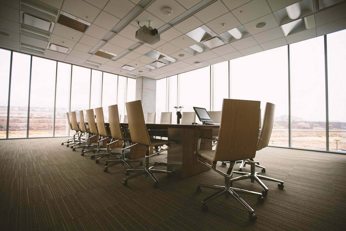 Business Consulting Board Room
