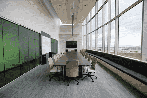 Modern Boardroom for business consulting and marketing advice
