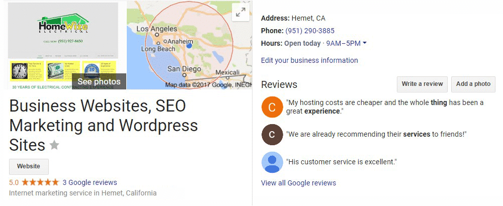 Free Local Google Business Listing Optimization Consultation